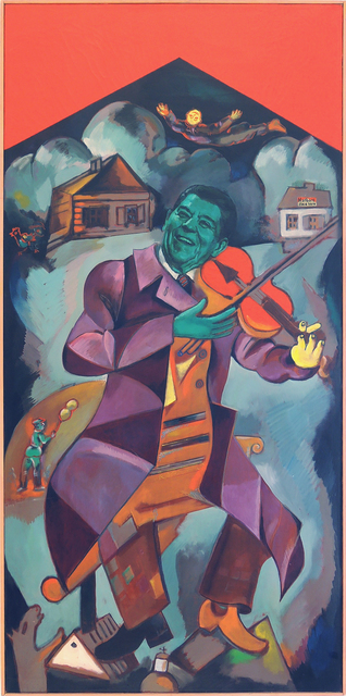 Alexander Kosolapov, 'Fiddler on the roof', 1985, Galerie Sébastien Bertrand