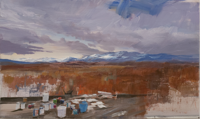 , 'Studio Landscape,' 2012, Postmasters Gallery