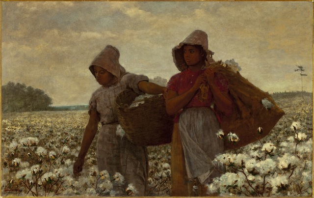 Winslow Homer, 'The Cotton Pickers', 1876, Painting, Oil on canvas, Los Angeles County Museum of Art