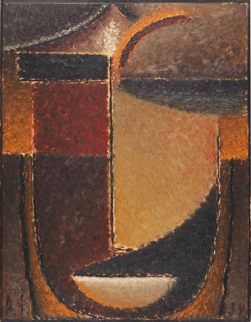 , 'Abstrakter Kopf: Orient - Verhaltene Glut,' 1932, Galerie Von Vertes