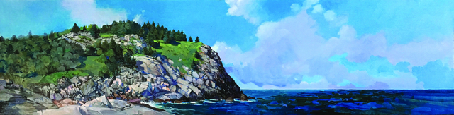, 'Black Head, Monhegan Island,' 2015-2019, Copley Society of Art