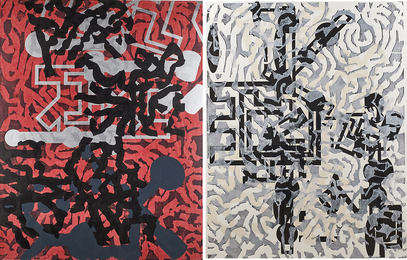 Sculptured Activities (diptych)