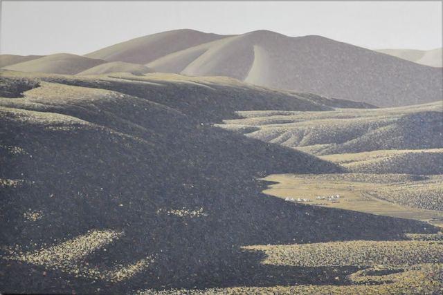, 'Mountain Stories 5,' 2014, C.A.M Galeri