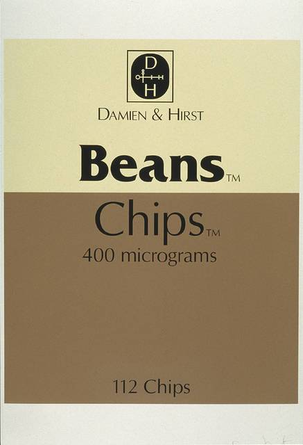 Damien Hirst, 'Beans and Chips, from The Last Supper', 1999, Kunzt Gallery