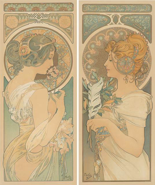 , 'Plume et Primevère,' 1899, Rennert's Gallery