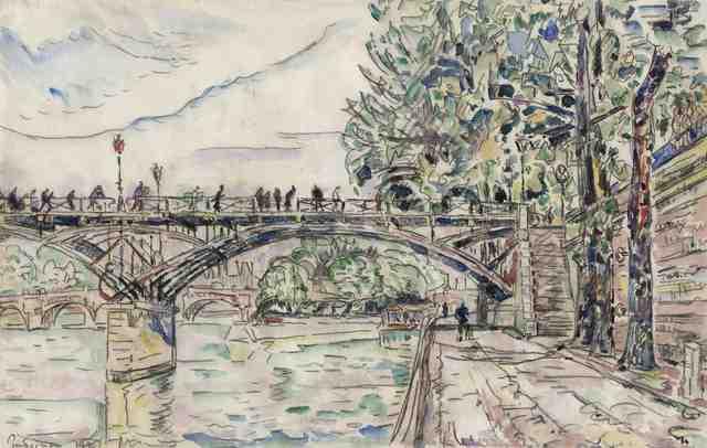 , 'Paris, le Pont des Arts,' 1927, Stoppenbach & Delestre