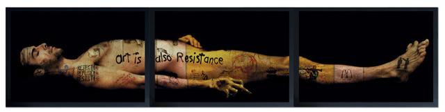 , 'ART IS ALSO RESISTANCE - LE CHRIST MORTE,' 2010, Mark Hachem Gallery