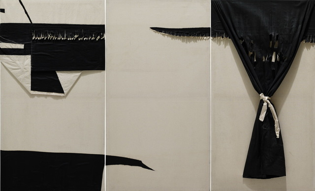 Chu Weibor, 'Gateless Curtain 無門之簾 ', 1984, Painting, Mixed Media on Canvas, Asia Art Center