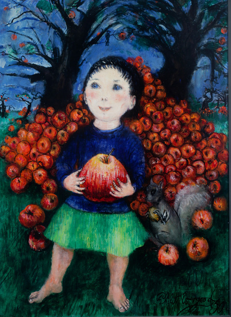 , 'Girl with Apples,' 1950, ACA Galleries