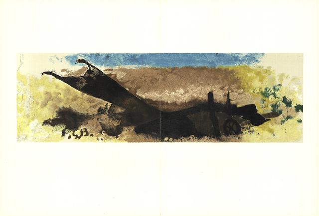Georges Braque, 'Bord de Mer', 1960, Print, Stone Lithograph, ArtWise
