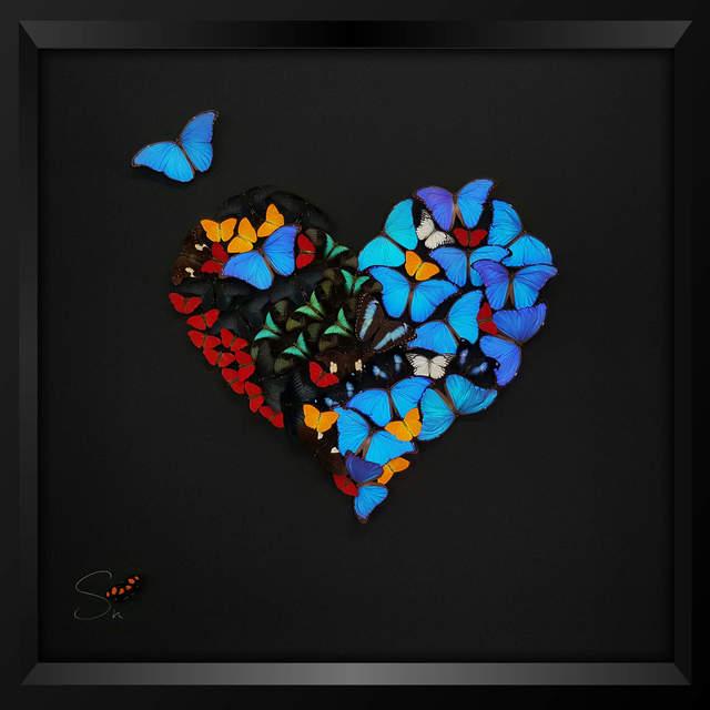 , 'HALF HEART,' 2017, Eden Fine Art