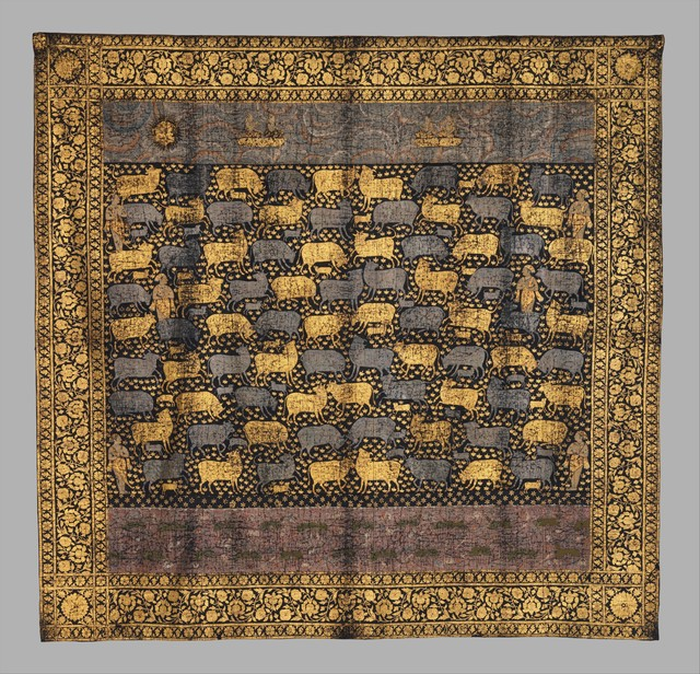 Unknown Indian, 'Picchwai for the Festival of Cows', late 18th century, The Metropolitan Museum of Art
