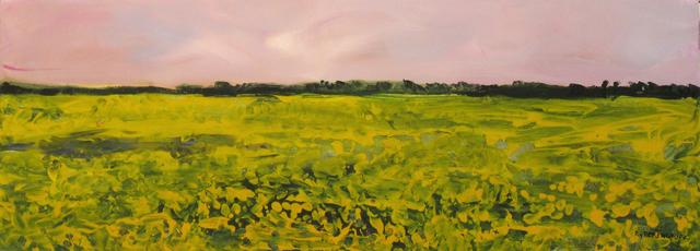 , 'Canola Field,' 2007, Newzones