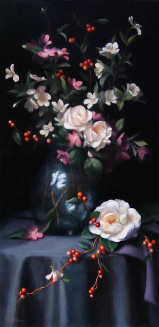 Lynne B. Mehlman, 'Blossoms and Berries', ca. 2017, The Guild of Boston Artists