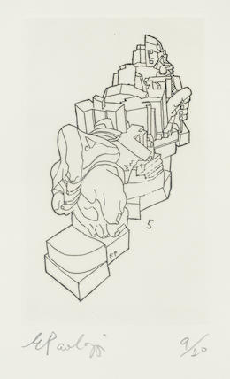 Eduardo Paolozzi, 'Untitled', unknown, Hidden