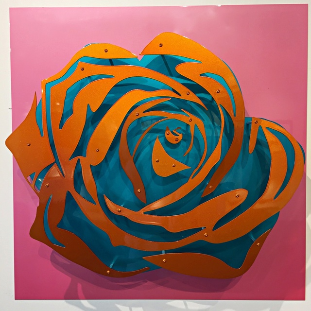 Michael Kalish, 'Candy Chrome Rose IV ', 2017, Off The Wall Gallery