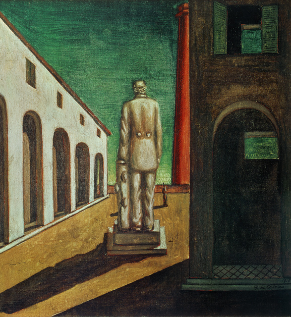 Giorgio de Chirico, 'The Melancholy of the Politician', 1913, Erich Lessing Culture and Fine Arts Archive