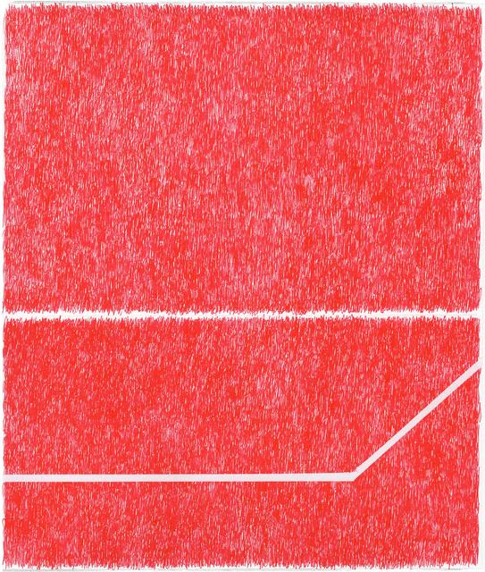 , 'Spray Red 1,' 2019, Haw Contemporary