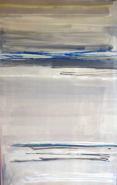 Larry Zox, 'Moby Grey', 1981, Painting, Acrylic on canvas, SPONDER GALLERY