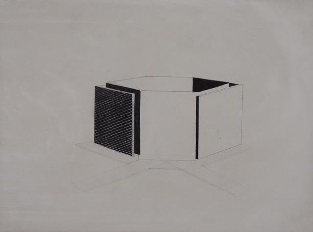, 'Abstracted Building,' 2014, CYDONIA