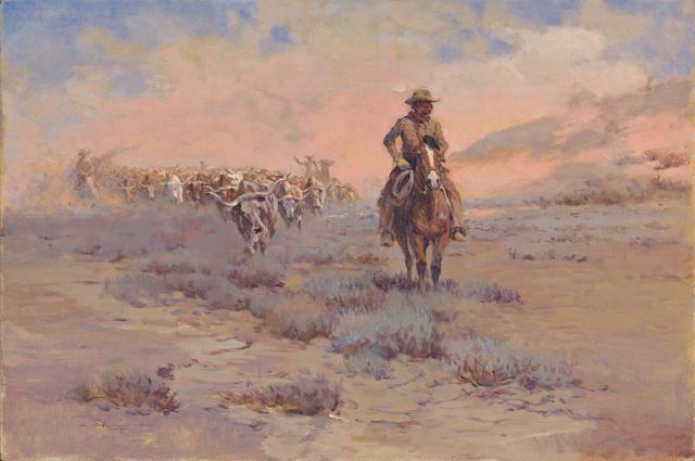 Ernest Chiriacka, 'Round up', 1970-1978, Casweck Galleries