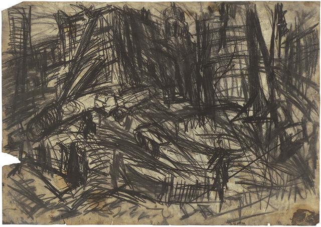 Leon Kossoff, 'Demolition of YMCA Building, No.2', 1970, Timothy Taylor