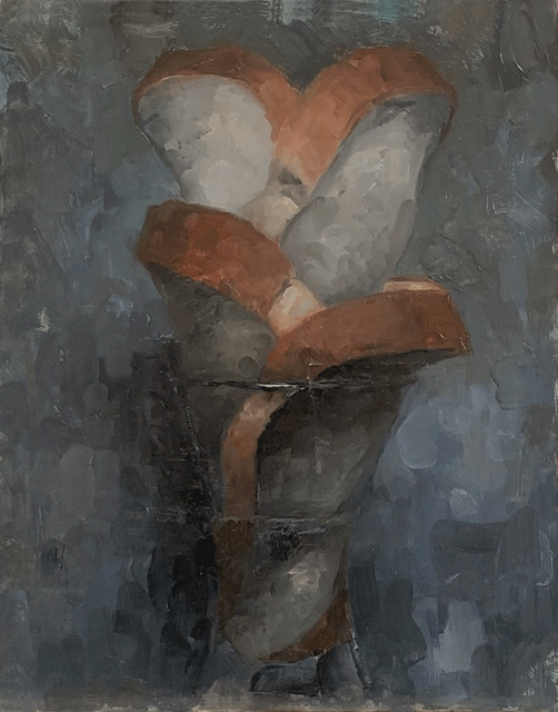 Tom Giesler, 'Floral 11: bread arrangement', 2020, Painting, Oil on panel, McVarish Gallery