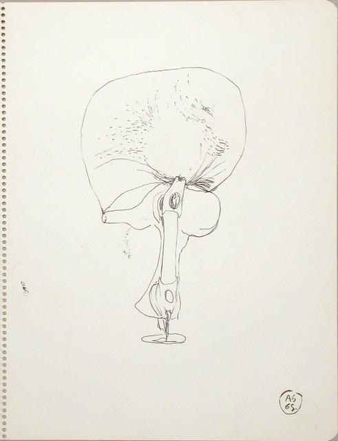, 'Sketch, Sculpture wit Car Shock Absorber,' 1965, Galerie Isabella Czarnowska