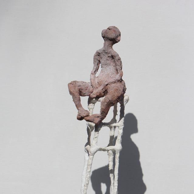 , 'PENSEUR SUR STRUCTURE IMPROBABLE (Thinker on improbable structure),' 2017, LouiSimone Guirandou Gallery