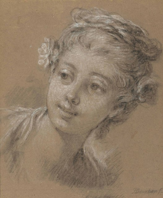 , 'Head of a young girl,' , Christie's Old Masters