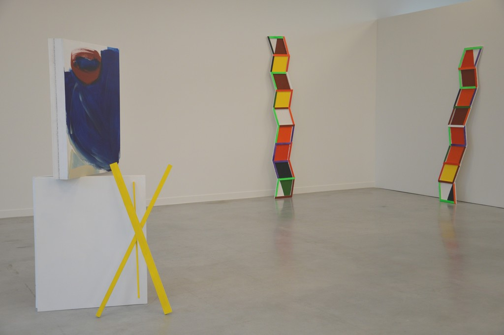 Jessica Warboys. Drift Grid, Box Painting & Wood, 2014 (c) M - Museum Leuven