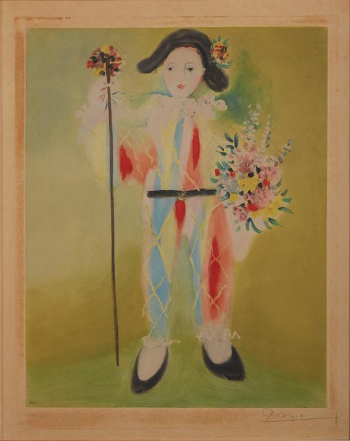 Pablo Picasso, 'Harlequin', Pandolfini