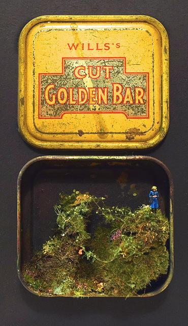 , 'Golden Bar I,' 2018, Hicks Gallery