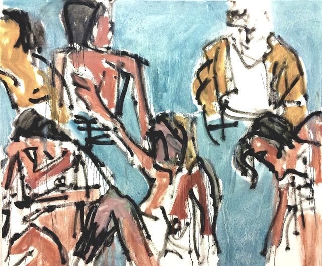 , 'Bathers (1968),' 2016, Stuart & Co. Gallery