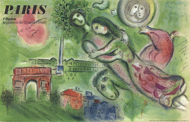 Marc Chagall, 'Romeo and Juliette', 1964, Ephemera or Merchandise, Lithograph, ArtWise