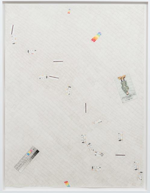 , '#118, afternoon studio floor,' 2017, Galerie Antoine Ertaskiran