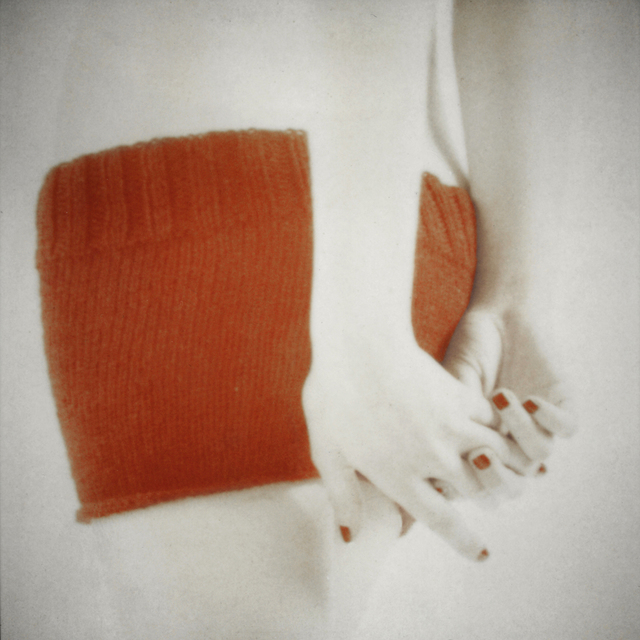 , 'Orange Knit with Clasped Hands,' 2014, DECORAZONgallery