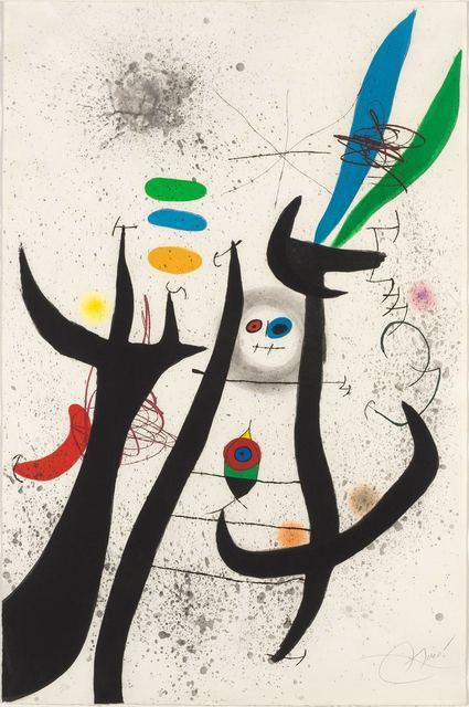 Joan Miró, 'La Femme Arborescente (D. 649)', 1974, Doyle
