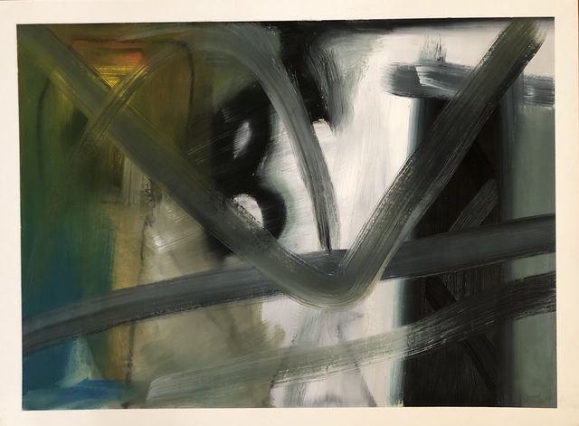 , 'Abstract in Blue Green,' 2019, Imlay Gallery