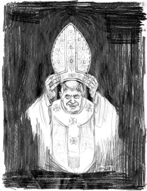 , 'Devil Pope,' 2011, Subliminal Projects
