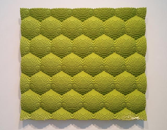 , 'Green Honeycomb,' 2014, Olga Korper Gallery