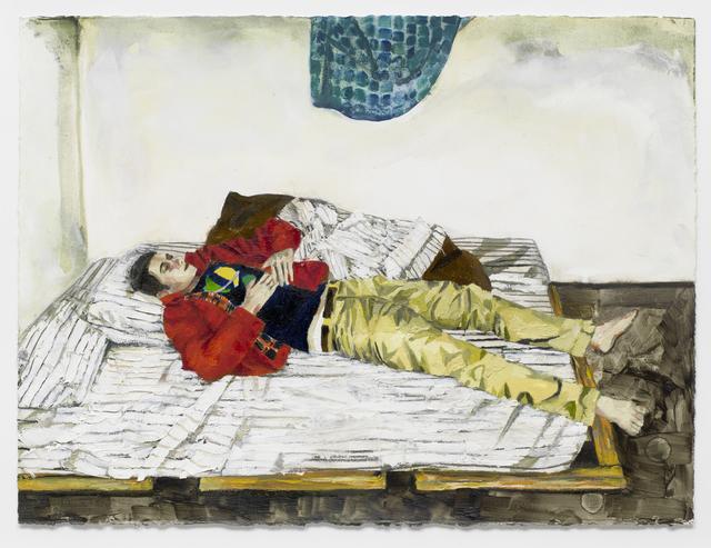 , 'Shanti (Red Jacket),' 2014, Buchmann Galerie