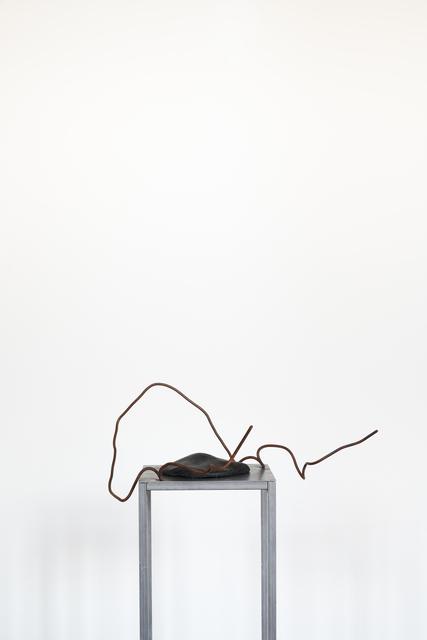 Serena Fineschi, 'Cacciata dal Paradiso. La resa (Caption Series)', 2020, Sculpture, Gres, iron, wax, Palazzo Monti
