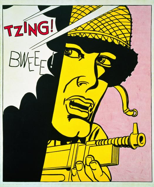 , 'Live Ammo (Tzing!),' 1962, RMN Grand Palais