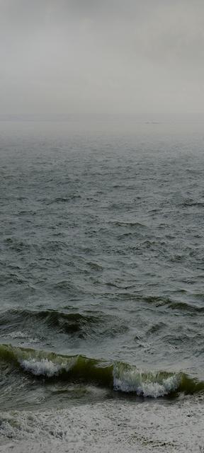 Nadav Kander, 'Water XVII, (Southend towards Phoenix Caisson Mulberry Harbour), England, 2015', 2015, Blindspot Gallery