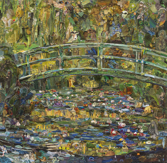, 'Repro: Pola Museum of Art (Water Lily Pond, after Claude Monet) ,' 2016, Galeria Nara Roesler