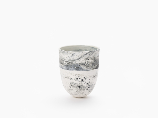 HoJung Kim, 'FLOW White and Black III-III | By HoJung Kim', 2021, Design/Decorative Art, Porcelain, THROWN