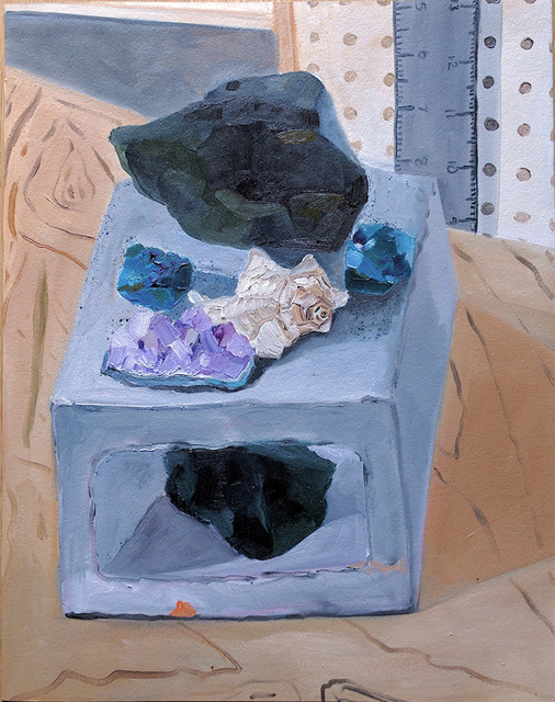 , 'Rocks and Cinderblock,' 2017, parts gallery