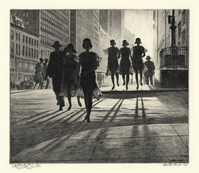 , 'Shadow Dance,' 1930, The Old Print Shop, Inc.