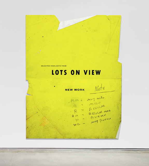 , 'Lots on View,' 2017, Bryce Wolkowitz Gallery
